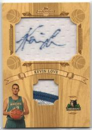 2008-09 TOPPS Hardwood	Fabric Signature Patches (Rookie)	Kevin Love	【42/50】
