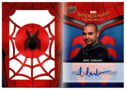 2017 UD Spider-Man Homecoming Autographed Booklets / MICHAEL MANDO as MAC GARGAN 【026/100】