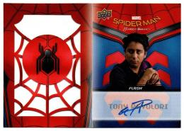 2017 UD Spider-Man Homecoming Autographed Booklets / TONY REVOLORI as FLASH 【085/100】