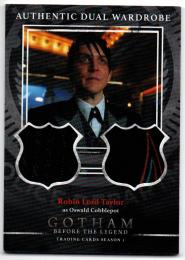 2016 CRYPTOZOIC Gotham Season One Dual Wardrobes / ROBIN LORD TAYLOR as Oswald Cobblepot