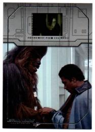 2015 TOPPS Star Wars Illustrated Empire Strikes Back Film Cel Relics / Lando's Redeption
