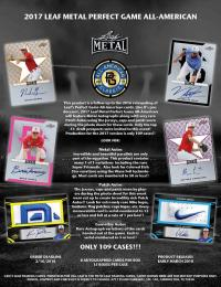◆予約◆ 2017 LEAF METAL PERFECT GAME ALL-AMERICAN BASEBALL[ボックス]