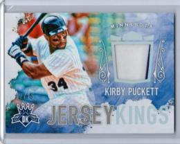 2017 Diamond Kings 	Kirby Puckett	Jersey Kings #JKKP 	7/25