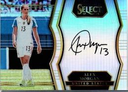 2017PANINI Select  Alex Morgan 直筆サインカード