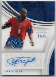 2017 Immaculate Collection	Marquee Signatures	Paulo Wanchope	【39/75】