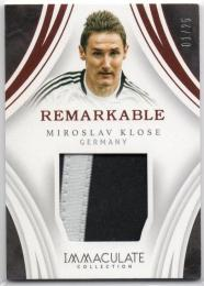 2017 Immaculate Collection	Bronze Parallel Remarkable Memorabilia	Miroslav Klose	【01/25 1st NO.】