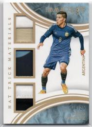 2017 Immaculate Collection	Prime Parallel Hat Trick Materials	Enzo Perez	【14/25】