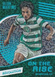 2017 PANINI Revolution  Gelson Martins - Sporting CP On the Rise, Disco 04/25