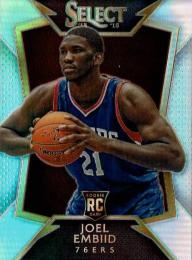 2014-2015 PANINI SELECT  Prizms Silver / Joel Embiid