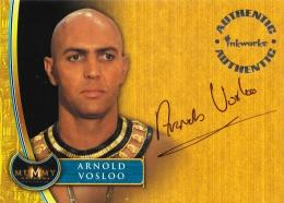 2001 INKWORKS The Mummy Returns Imhotep Arnold Vosloo Autograph A2