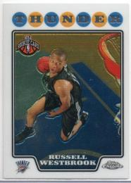 2008-09 TOPPS Chrome	Rookie Card	Russell Westbrook