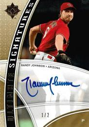2009 UD Ultimate Collection Ultimate Autograph Randy Johnson 【1/2】