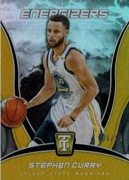 2017-18 PANINI TOTALLY CERTIFIED Energizers Gold / Stephen Curry 【06/10】