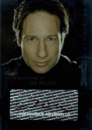 2008 X-Files I Want to Believe Autographs Gillian Anderson/David Duchovny 2枚セット Mulder/Scully