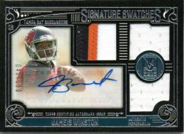 2015 Topps Museum Collection Jameis Winston Patch & Autograph 040/150