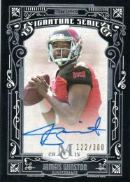 2015 Topps Museum Collection Jameis Winston Autograph 122/300