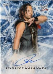 2018 Topps WWE Road To Wrestlemania   Shinsuke Nakamura Autographs