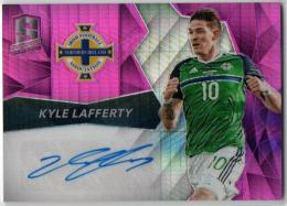 2016 PANINI Spectra	Pink Parallel Autograph	Kyle Lafferty	【07/25】