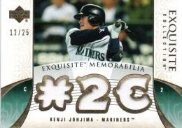 2006 Exquisite Collection	城島健司	Jersey	12/25