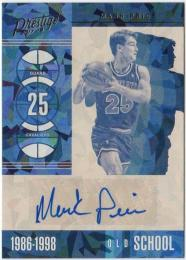 2017-18 Panini Prestige  Mark Price Autographs