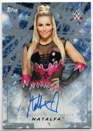 2018 TOPPS WWE Road To WrestleMania	Silver Parallel Autograph	Natalya	【21/25】
