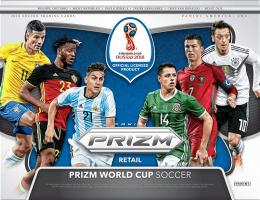 2018 PANINI PRIZM FIFA WORLD CUP SOCCER FAT PACK