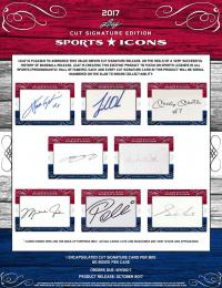 2017 LEAF SPORTS ICONS CUT SIGNATURE EDITION[ボックス]