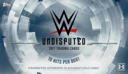 2017 TOPPS WWE UNDISPUTED WRESTLING[ボックス]