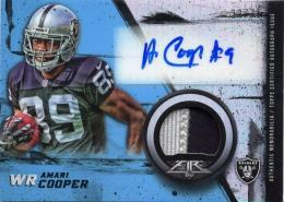 2015 TOPPS Fire 	Amari Cooper	Autograph & Patch	23/75