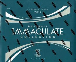 2017 PANINI IMMACULATE COLLECTION BASEBALL[ボックス]