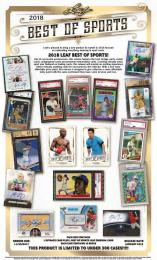 2018 LEAF BEST OF SPORTS [ボックス]