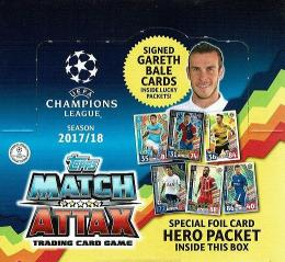 TOPPS 2017/18 UEFA CHAMPIONS LEAGUE MATCH ATTAX[ボックス]