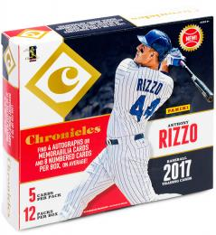 2017 PANINI CHRONICLES BASEBALL[ボックス]