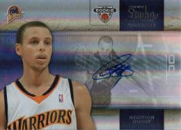 2009-10 PANINI Studio Stephen Curry Rookie Autograph 48/49