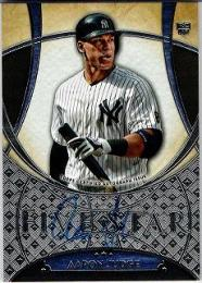2017 TOPPS Five Star 直筆サインカード Aaron Judge