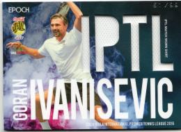 2016 EPOCH IPTL   Goran Ivanisevic Match Worn Shirt 51/99