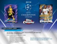 ◆予約◆ 2017/18 TOPPS UEFA CHAMPIONS LEAGUE CHROME[ボックス]