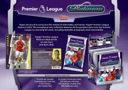 ◆予約◆ 2017/18 TOPPS PREMIER LEAGUE PLATINUM[ボックス]