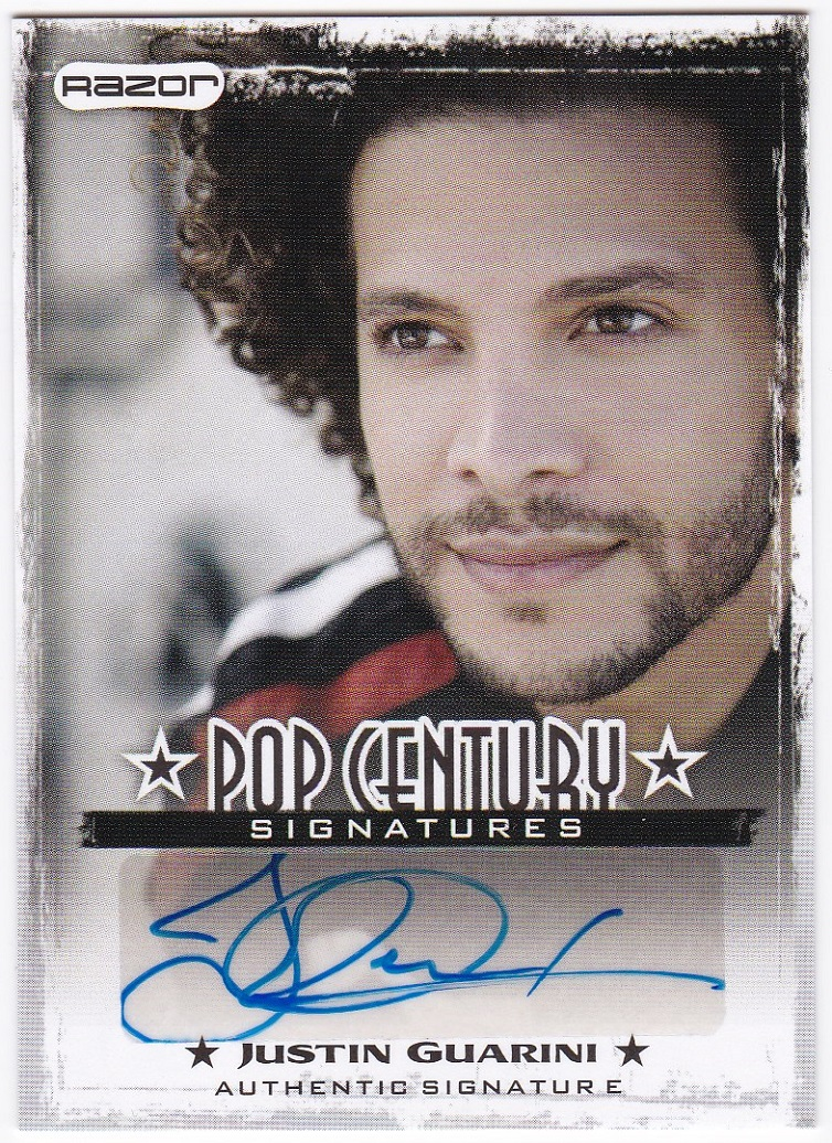 2010 Pop Century #JG1 JUSTIN GUARINI AU