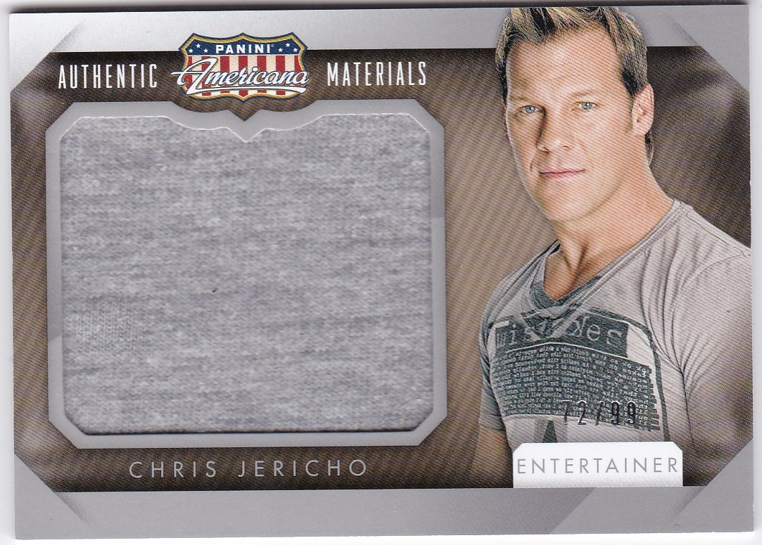 2015 Americana Jumbo Materials / CHRIS JERICHO 【72/99】